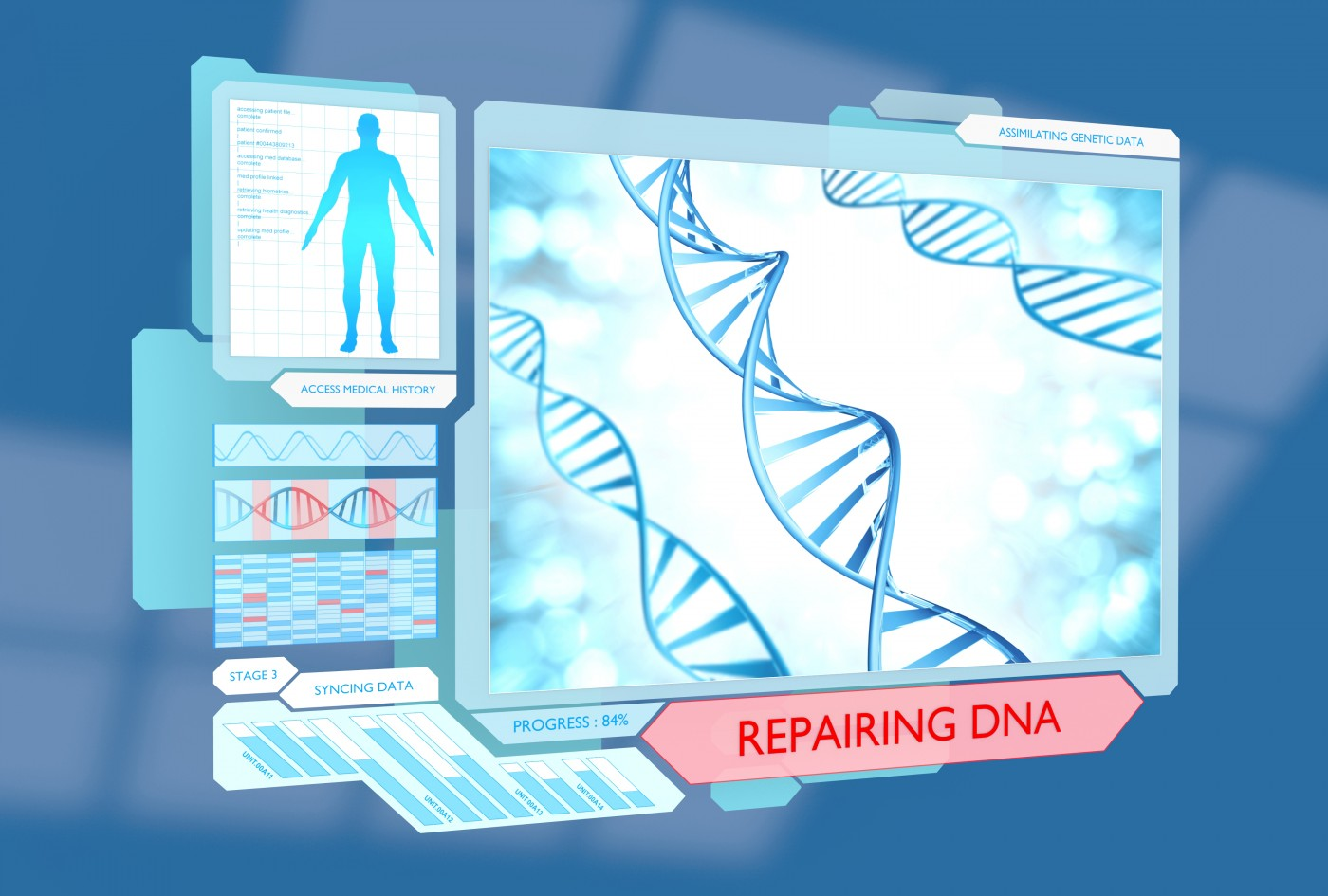 DNA Repair Mapped by UNC Researchers